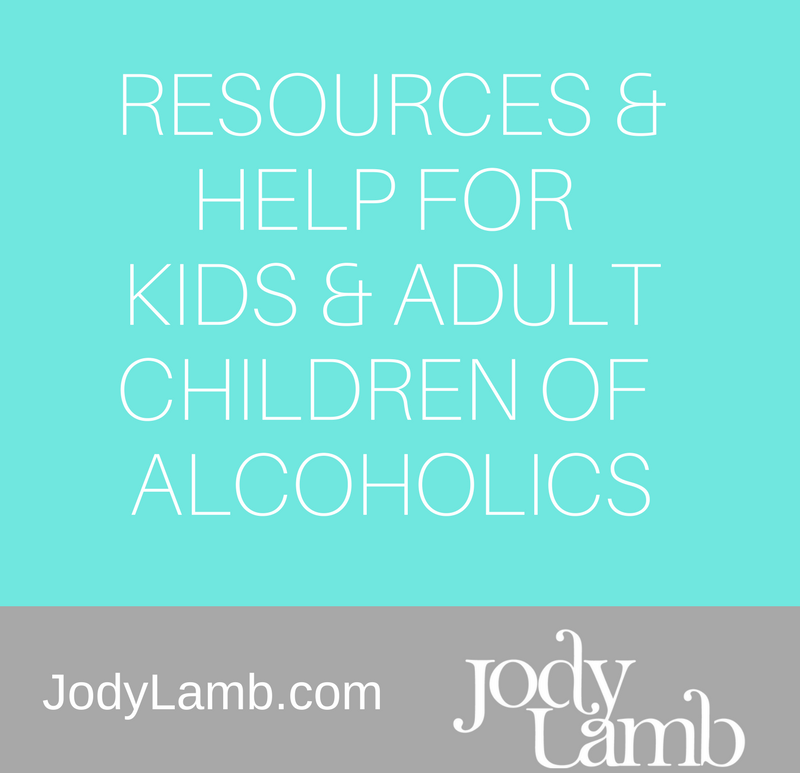 Help for kids, children of alcoholics & families
