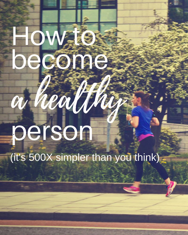 How to become a person